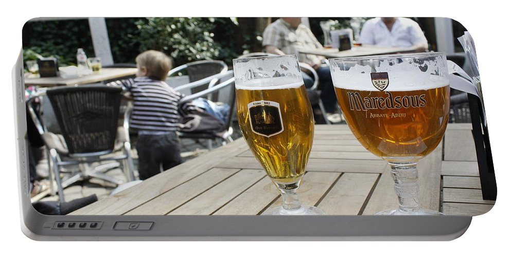 Beer Portable Battery Charger featuring the photograph Beer-mania by Donato Iannuzzi