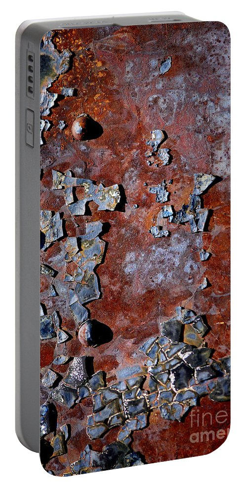 Vicki Pelham Portable Battery Charger featuring the photograph Bejeweled by Vicki Pelham