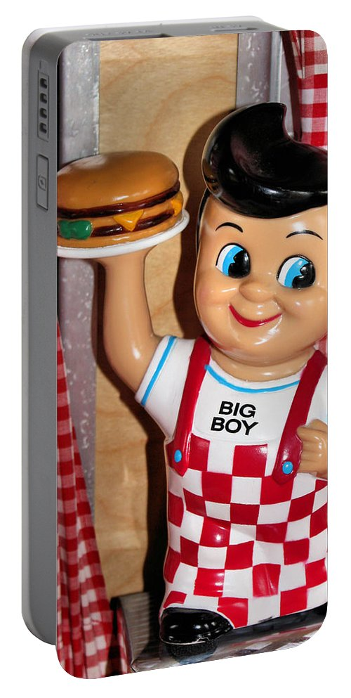 Toy Portable Battery Charger featuring the photograph Big Boy by Kristin Elmquist