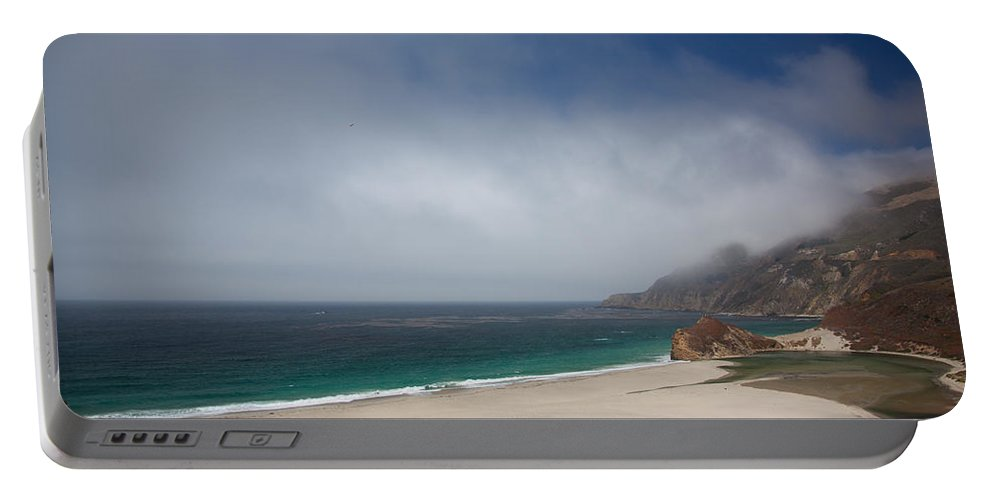 Big Sur Portable Battery Charger featuring the photograph Big Sur by Ralf Kaiser