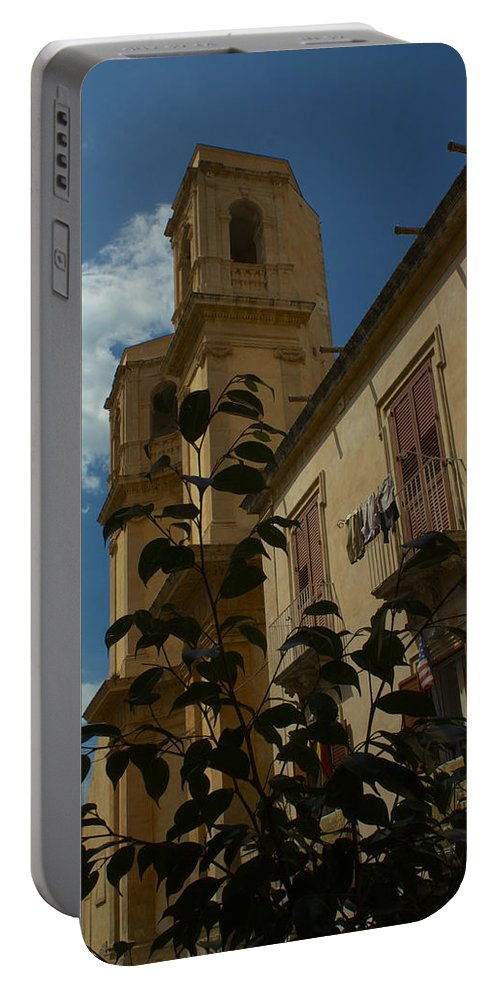 Italie Portable Battery Charger featuring the photograph Bla Bla by Donato Iannuzzi