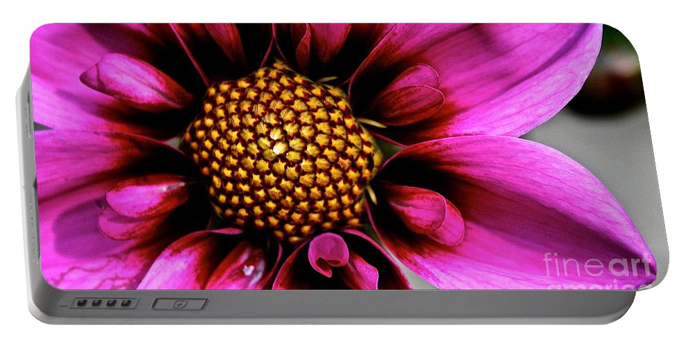 Floral Portable Battery Charger featuring the photograph Blue Bayou by Susan Herber