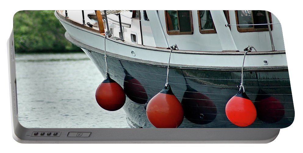 Boat Portable Battery Charger featuring the photograph Boat Time by Carolyn Marshall