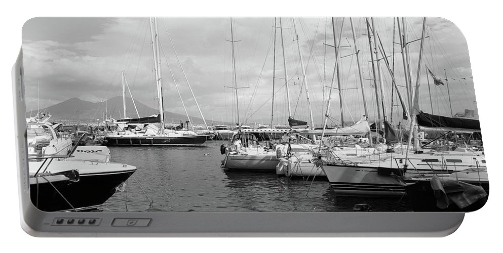 Boats Portable Battery Charger featuring the photograph Boats Meeting by La Dolce Vita