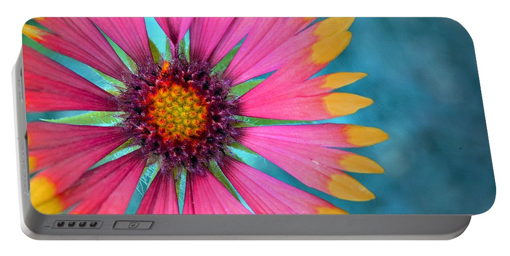 Flower Portable Battery Charger featuring the photograph Boldness by Tara Turner