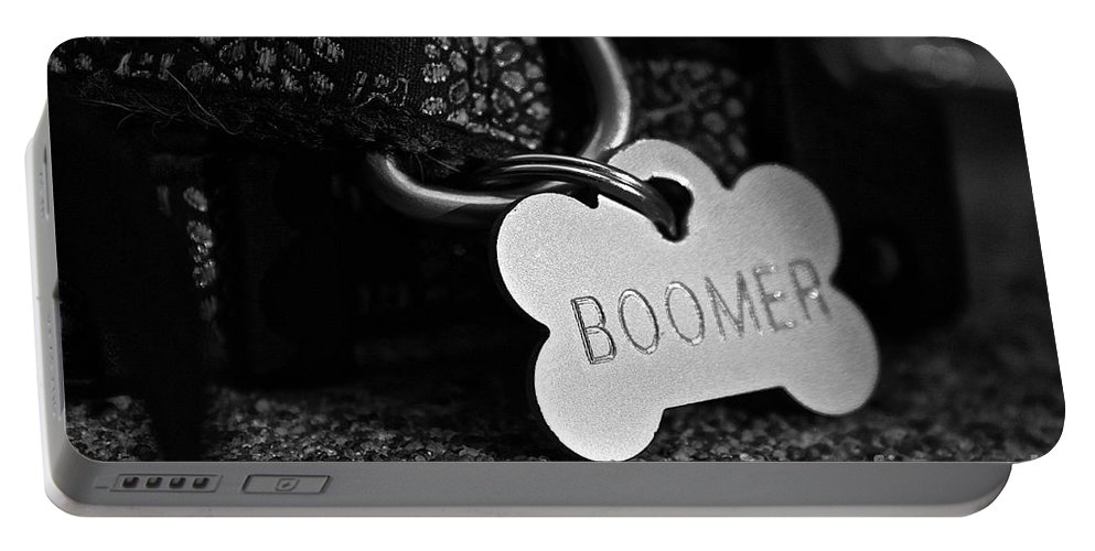 Animal Portable Battery Charger featuring the photograph Boomer's by Susan Herber