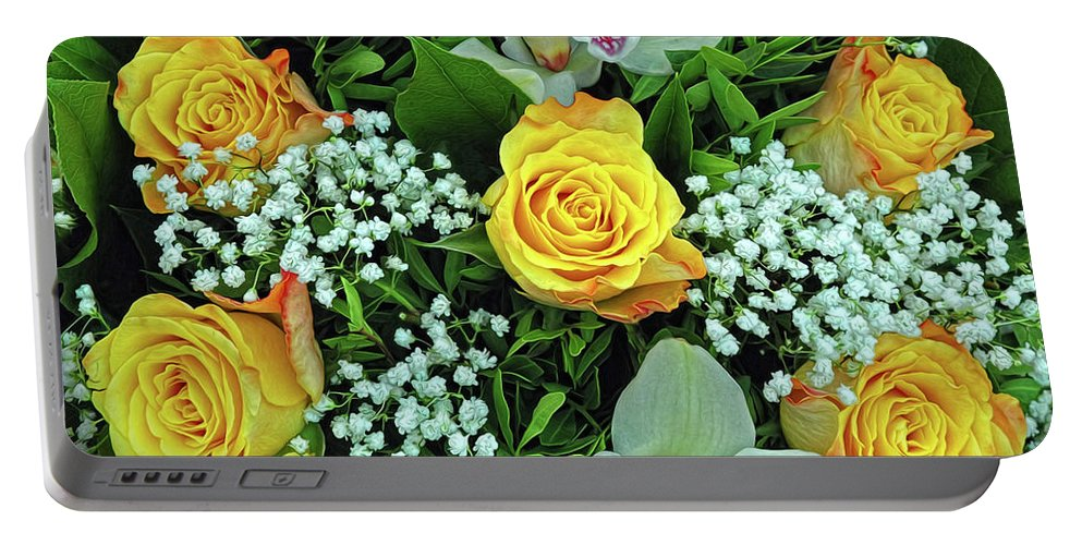 Bouquet Portable Battery Charger featuring the photograph Bouquet by Dave Mills