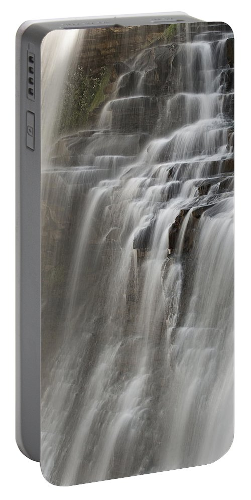 Water Portable Battery Charger featuring the photograph Brandywine Falls II by Dale Kincaid