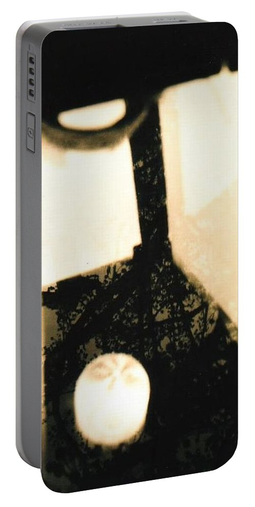 Reflection Portable Battery Charger featuring the photograph Bright by Samantha L