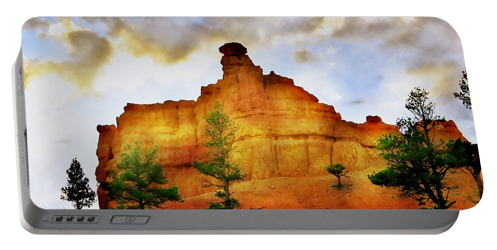 Bryce Portable Battery Charger featuring the photograph Bryce National Park Sunset by Ellen Heaverlo