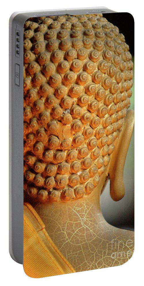 Buddha Portable Battery Charger featuring the photograph Buddha Detail 2 by Bob Christopher