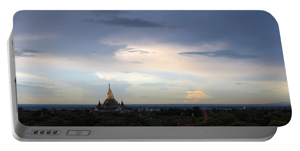 Buddha Portable Battery Charger featuring the photograph Buddha's Sky by RicardMN Photography