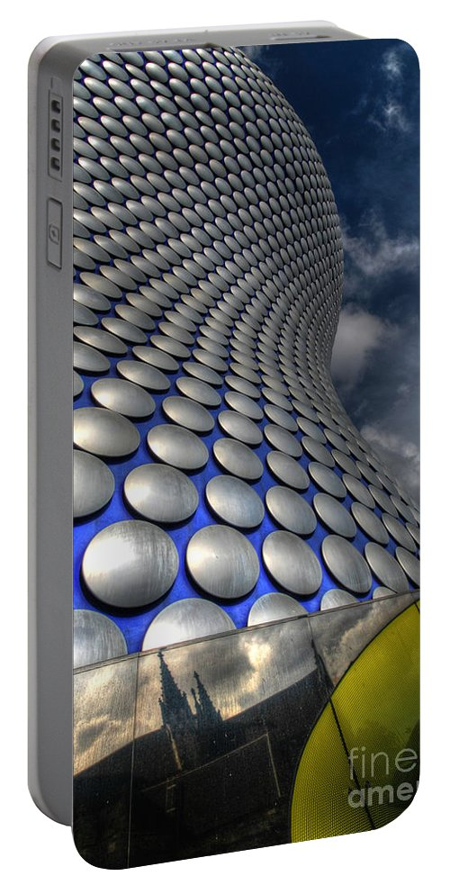 Art Portable Battery Charger featuring the photograph Bullring - Selfridges V2.0 by Yhun Suarez