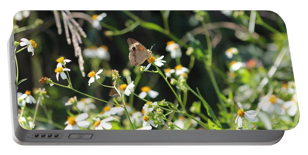 Scenery Portable Battery Charger featuring the photograph Butterfly 17 by Michelle Powell