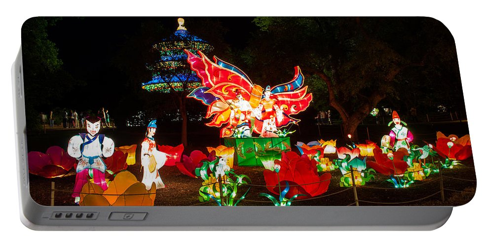 Art Portable Battery Charger featuring the photograph Butterfly Lovers by Semmick Photo