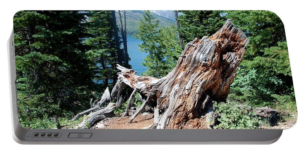 Jenny Lake Portable Battery Charger featuring the photograph By Jenny Lake by Dany Lison
