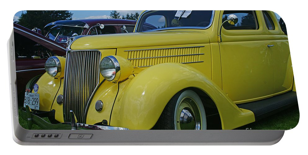 Cars Portable Battery Charger featuring the photograph Ca9692-12 by Randy Harris