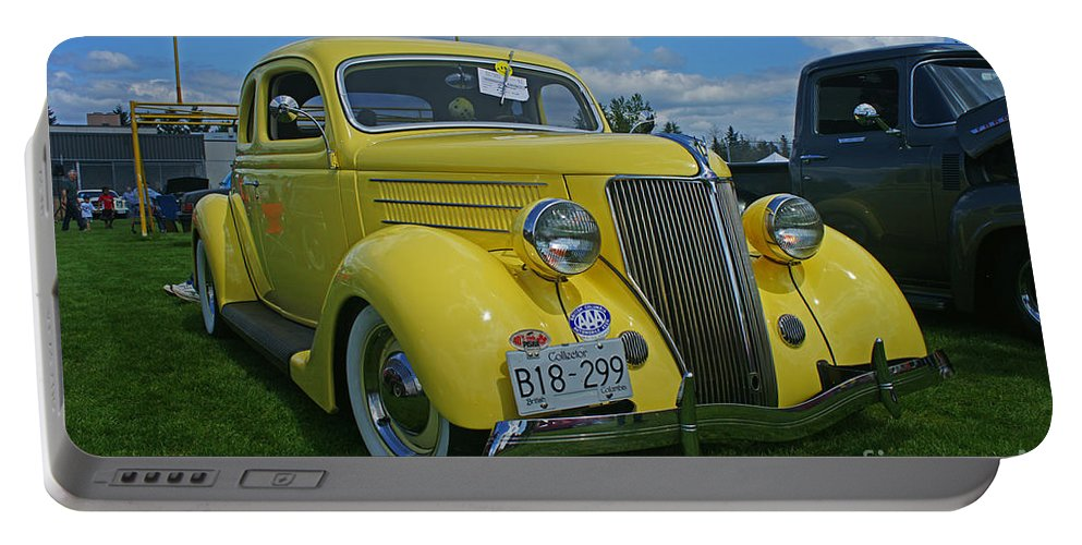 Cars Portable Battery Charger featuring the photograph Ca9693-12 by Randy Harris