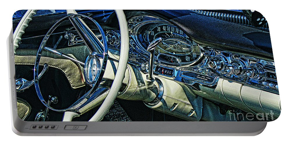 Cars Portable Battery Charger featuring the photograph Cadp0697-12 by Randy Harris