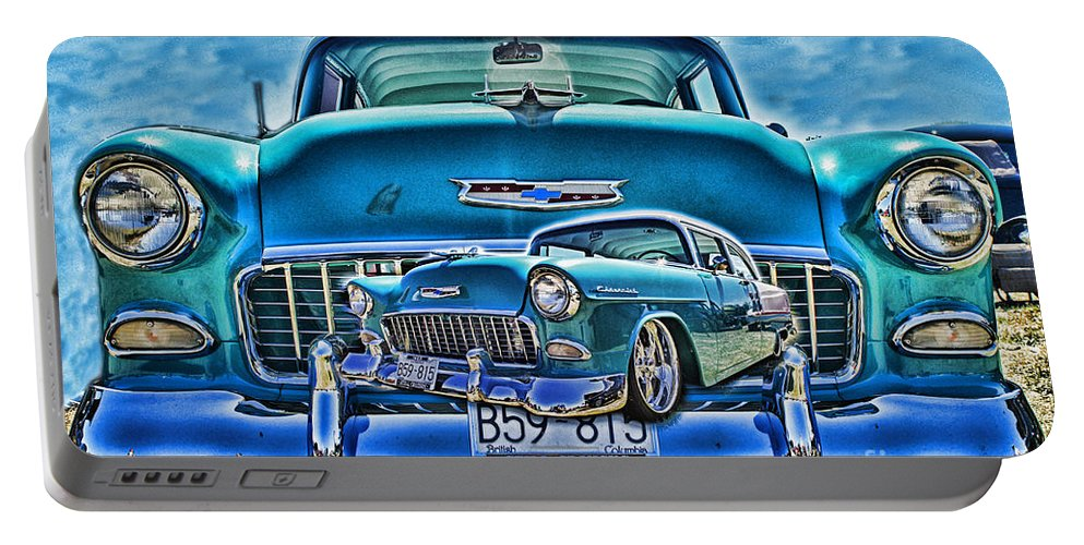 Cars Portable Battery Charger featuring the photograph Cadp0738a-12 by Randy Harris