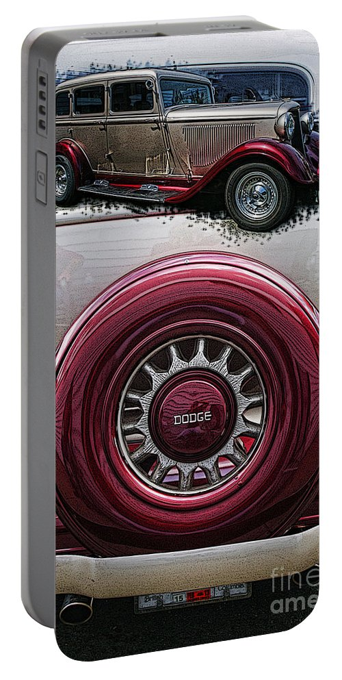Cars Portable Battery Charger featuring the photograph Cadp1089-12 by Randy Harris
