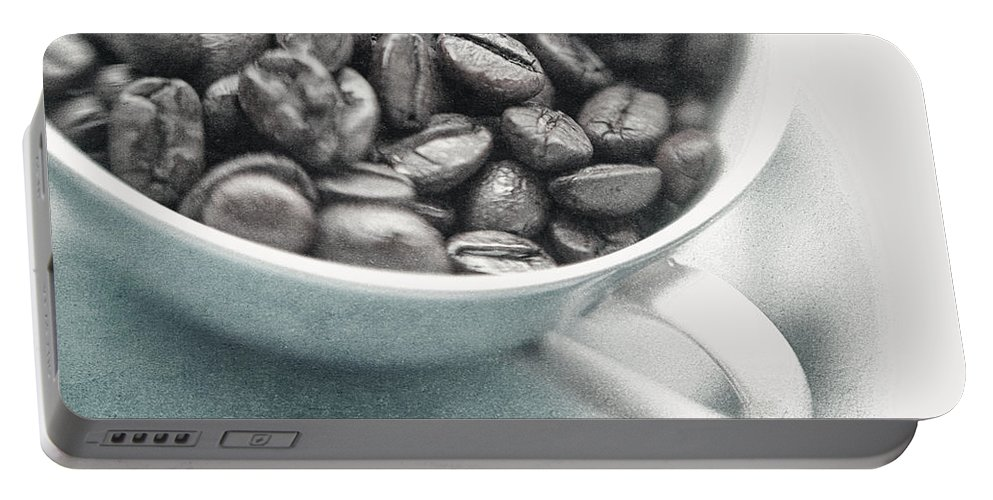 Caffeine Portable Battery Charger featuring the photograph Caffeine by Priska Wettstein