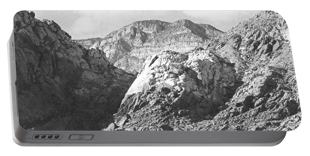Portable Battery Charger featuring the photograph Calico Basin by Frank Wilson