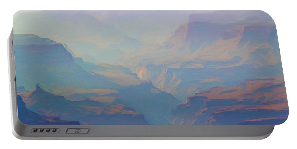 Grand Canyon Portable Battery Charger featuring the photograph Canyon Close Up by Heidi Smith