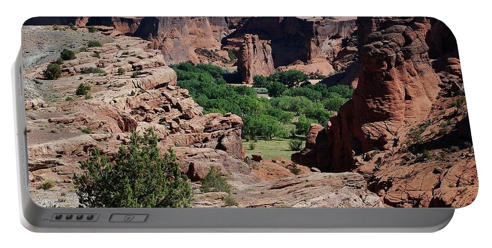 Arizona Portable Battery Charger featuring the photograph Canyon De Chelly by Dany Lison