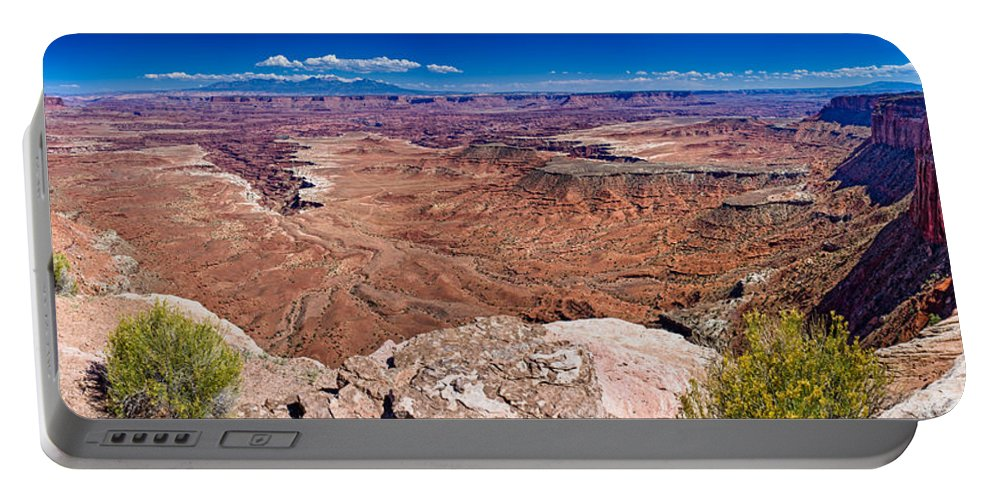 Canyonlands Portable Battery Charger featuring the photograph Canyon In Canyonlands by Greg Nyquist