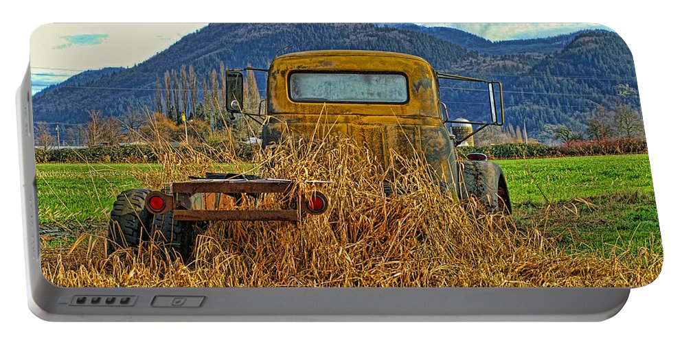Trucks Portable Battery Charger featuring the photograph Caoc2007-08 by Randy Harris
