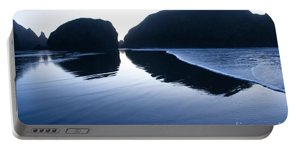 Pacific Ocean Portable Battery Charger featuring the photograph Cape Sebastian by Bob Christopher