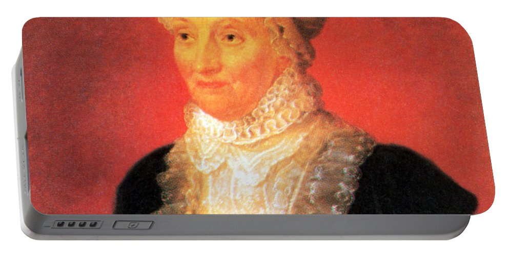 Science Portable Battery Charger featuring the photograph Caroline Herschel, German-british by Science Source