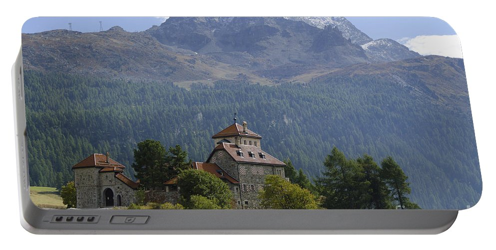 Mountains Portable Battery Charger featuring the photograph Castle Crap Da Sass by Mats Silvan