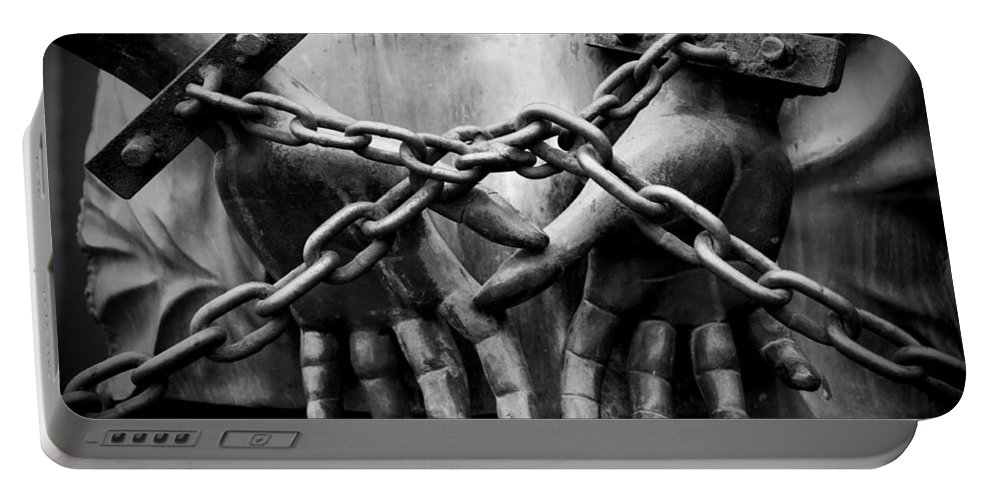 Chains Portable Battery Charger featuring the photograph Chains by Fabrizio Troiani