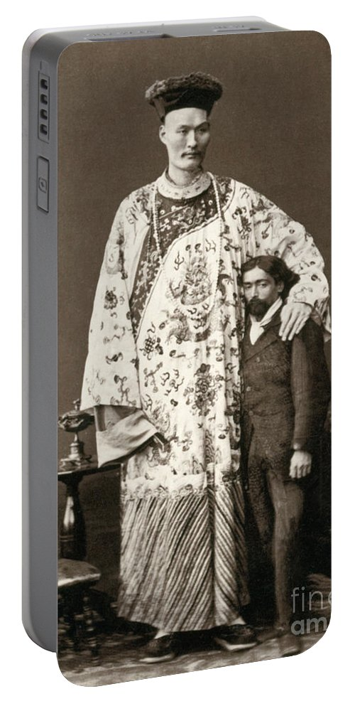 Man Portable Battery Charger featuring the photograph Chang Woo Gow, Chinese Giant by Science Source