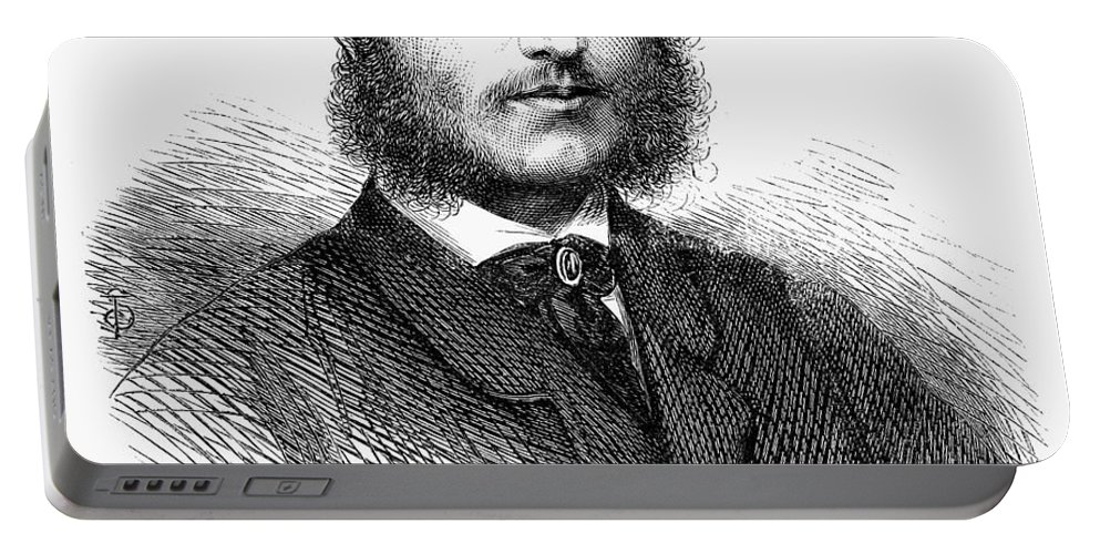 1865 Portable Battery Charger featuring the photograph Charles Hanbury-tracy by Granger