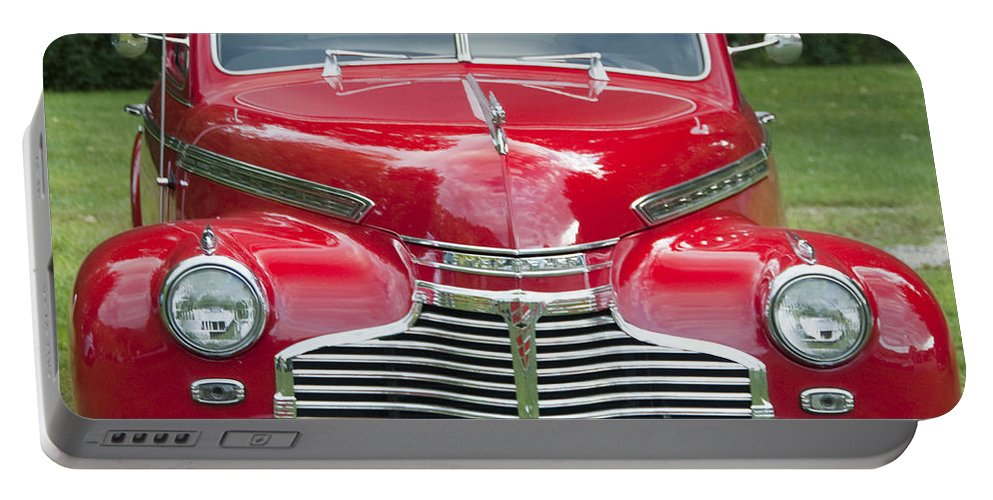 Photography Portable Battery Charger featuring the photograph Chevrolet 1941 by Steven Natanson