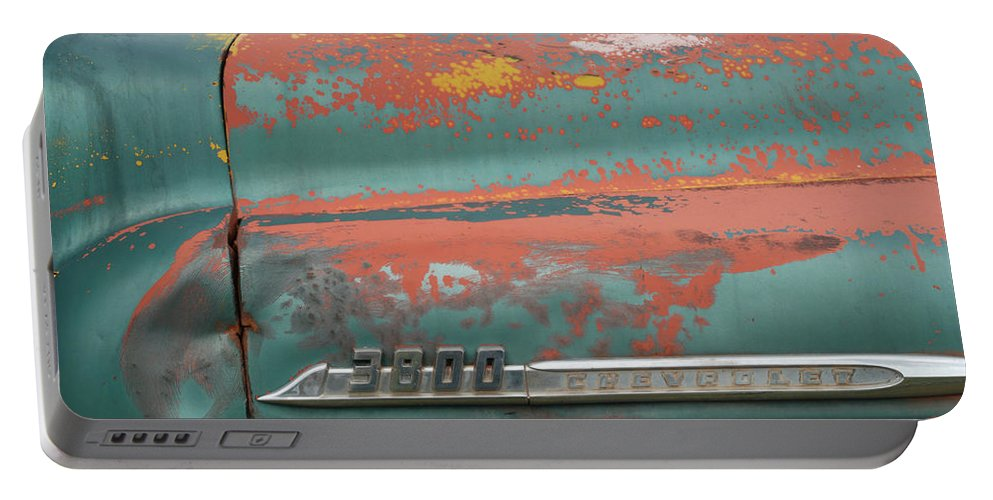 Chevrolet Portable Battery Charger featuring the photograph Chevrolet by Ron Weathers