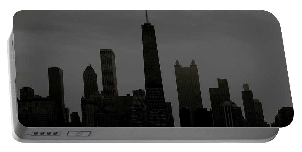 Chicago Portable Battery Charger featuring the photograph Chicago Impressions 6 by Marwan George Khoury