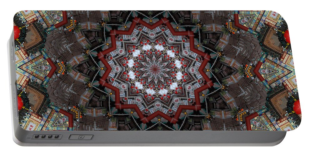 China Town Portable Battery Charger featuring the photograph China Town by Trish Tritz
