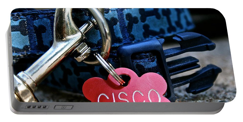 Animal Portable Battery Charger featuring the photograph Cisco's Gear by Susan Herber