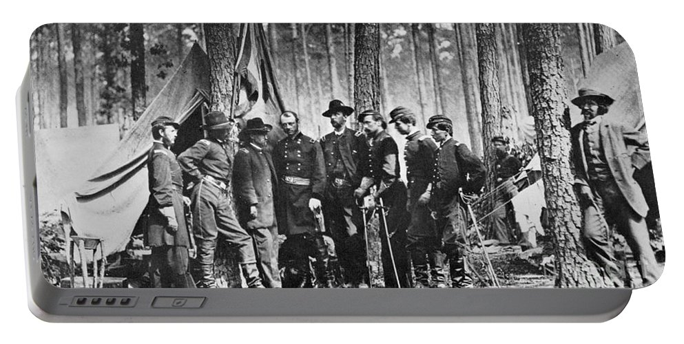 1860s Portable Battery Charger featuring the photograph Civil War: Mathew Brady by Granger