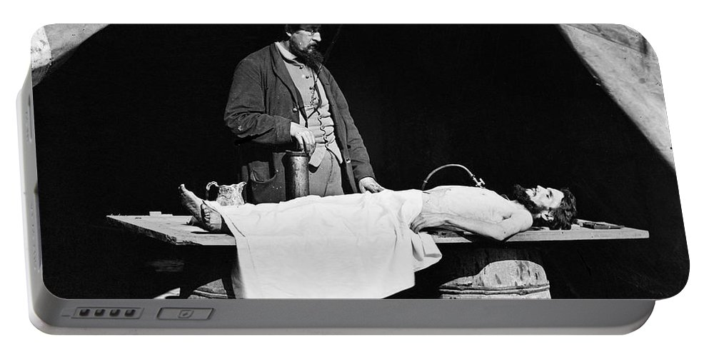 1860s Portable Battery Charger featuring the photograph Civil War: Surgeon by Granger
