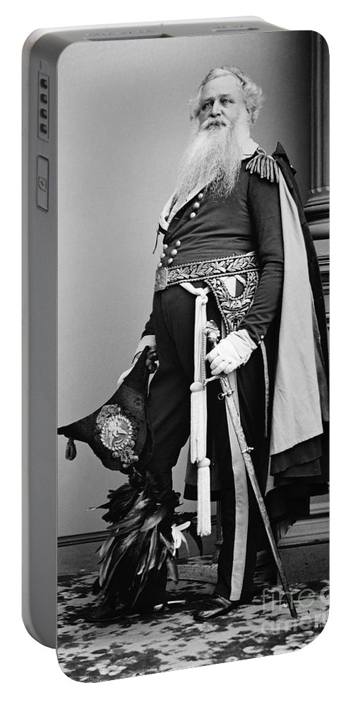 1865 Portable Battery Charger featuring the photograph Civil War: Union General by Granger