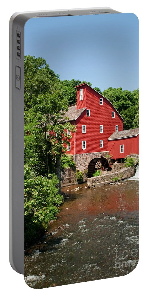 Clinton Mill Nj Portable Battery Charger featuring the photograph Clinton Mill IIi by Regina Geoghan
