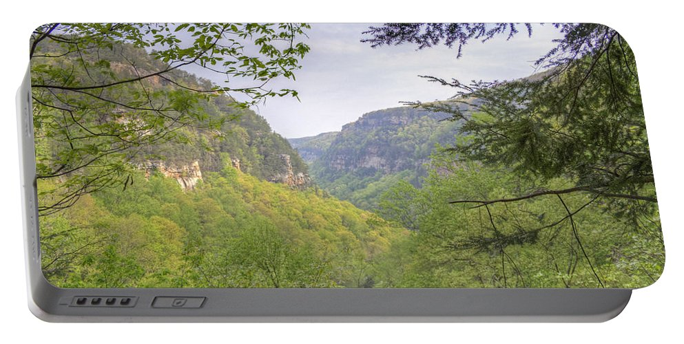Cloudland Canyon Portable Battery Charger featuring the photograph Cloudland Canyon by David Troxel