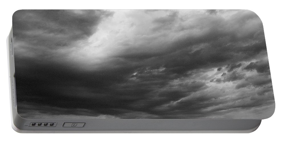 2012 Portable Battery Charger featuring the photograph Clouds Over The Sea by Jouko Lehto