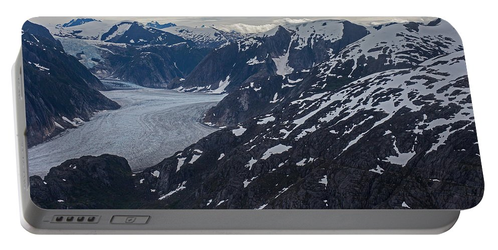 Frederick Sound Portable Battery Charger featuring the photograph Coastal Range Awakening by Mike Reid