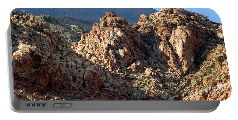 Desert Portable Battery Charger featuring the photograph Colors In The Desert by Frank Wilson